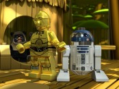 Scene from the first episode of LEGO Droid Tales