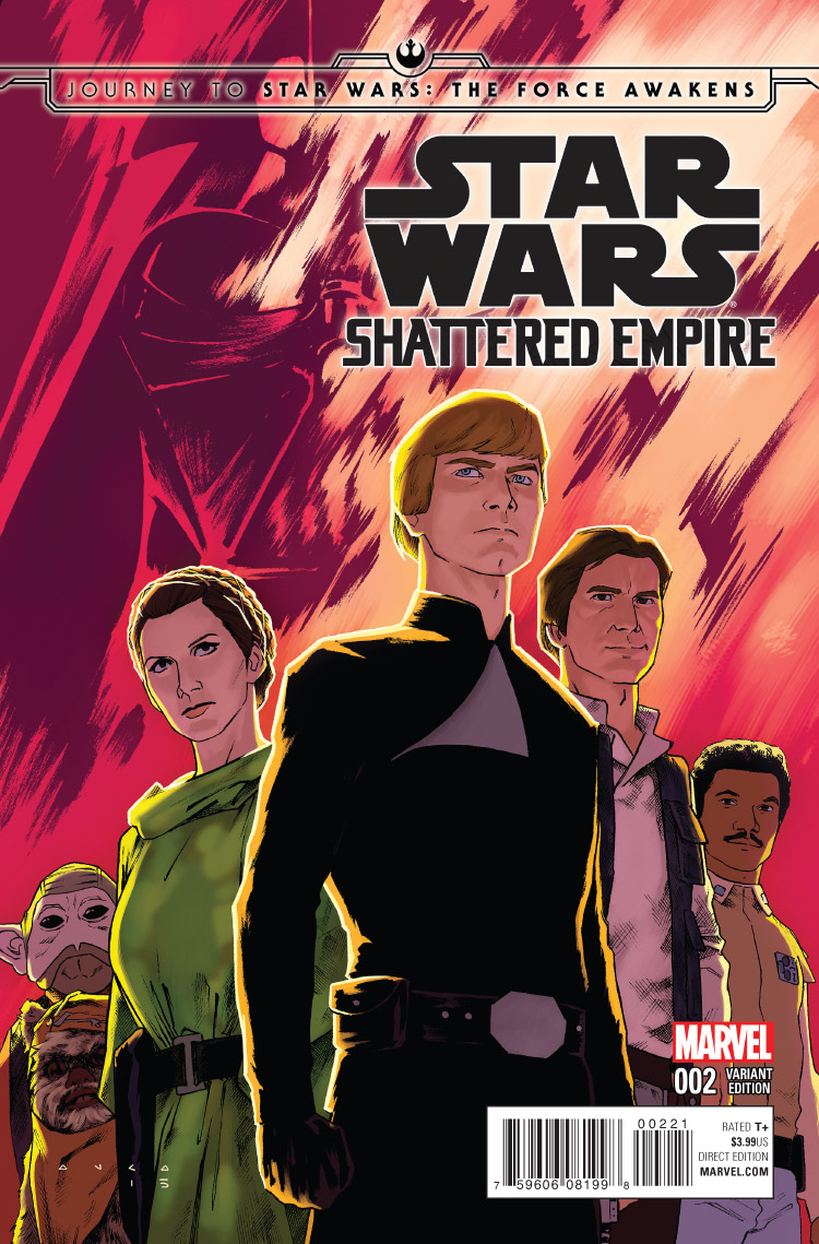 JOURNEY TO STAR WARS THE FORCE AWAKENS SHATTERED EMPIRE #1 COMIC POP EXCLUSIVE