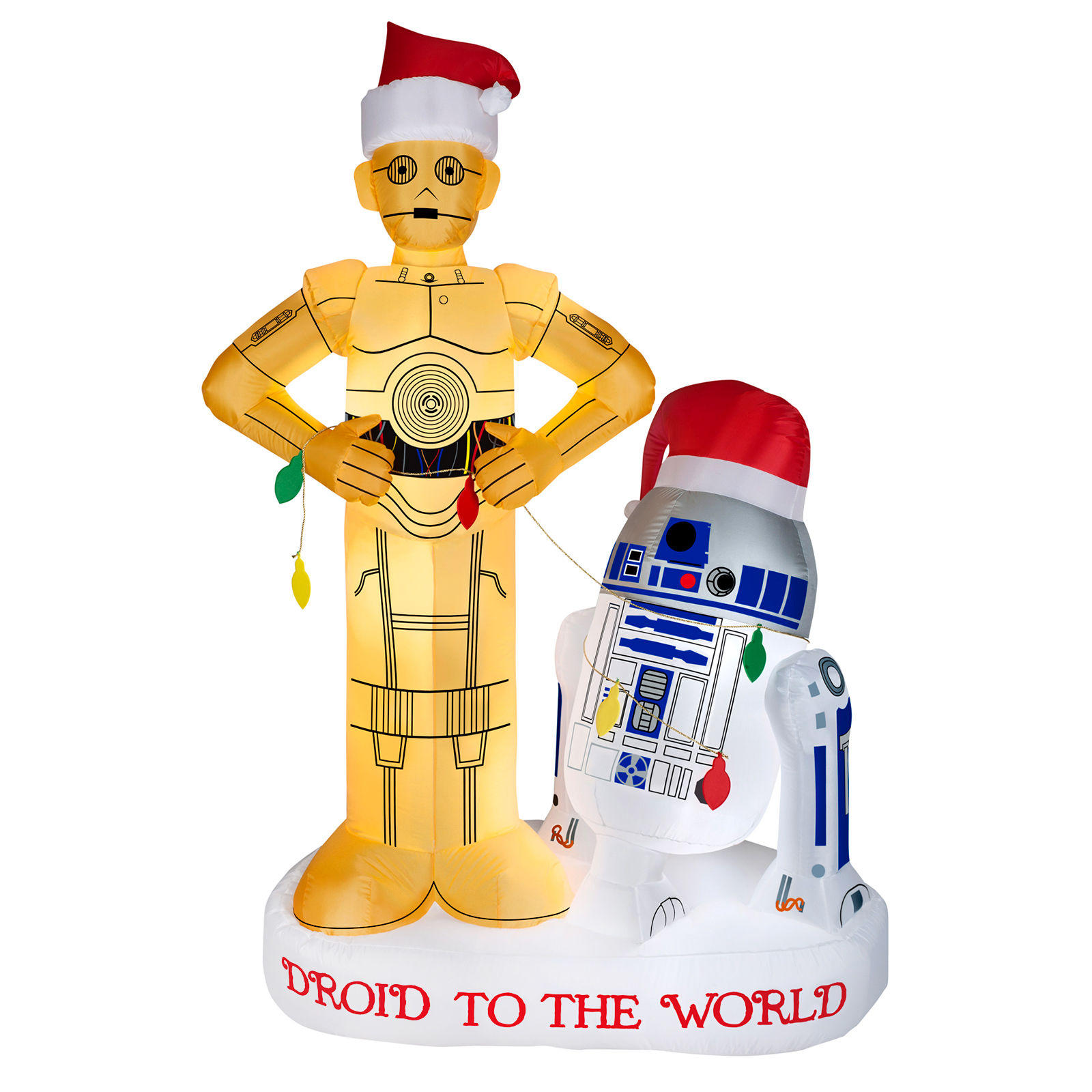 Star Wars R2D2 and C3PO Inflatable