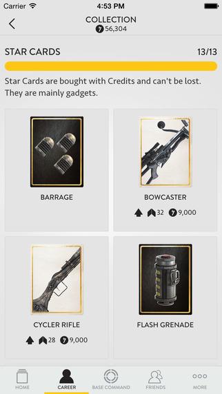 Star Wars Battlefront App