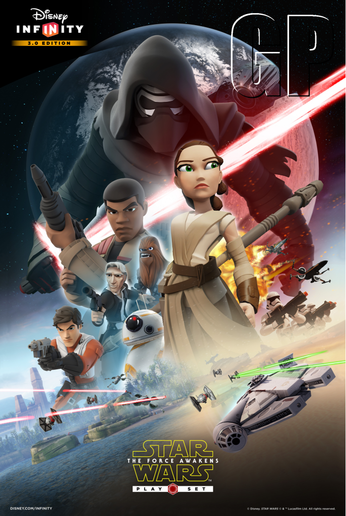 Disney Infinity 3.0 Star Wars: The Force Awakens Poster