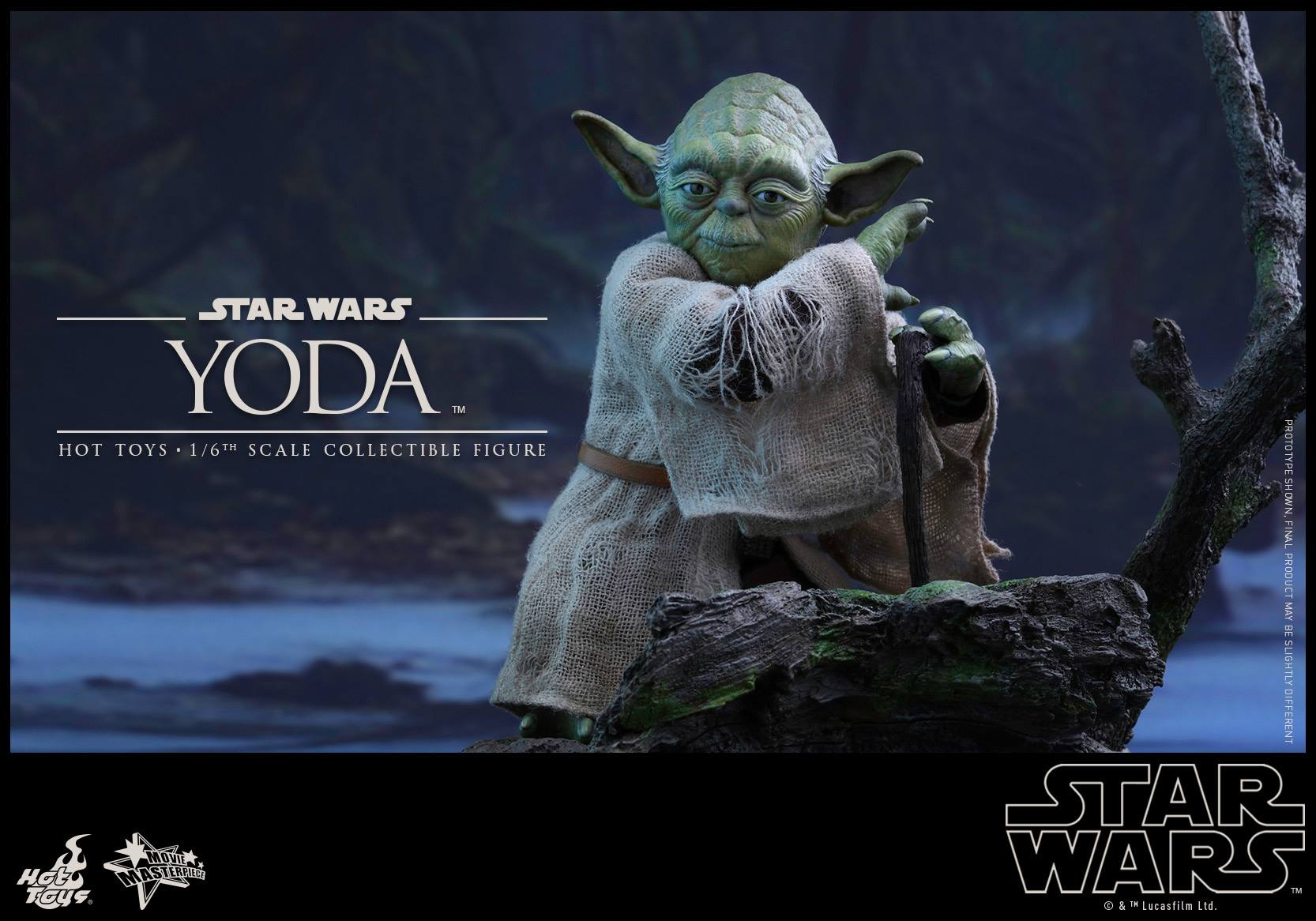 Empire Strikes Back Yoda Figure