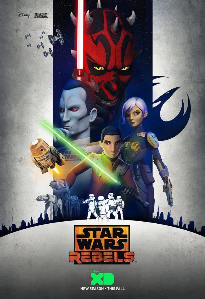 Star Wars Rebels Season 3 Poster
