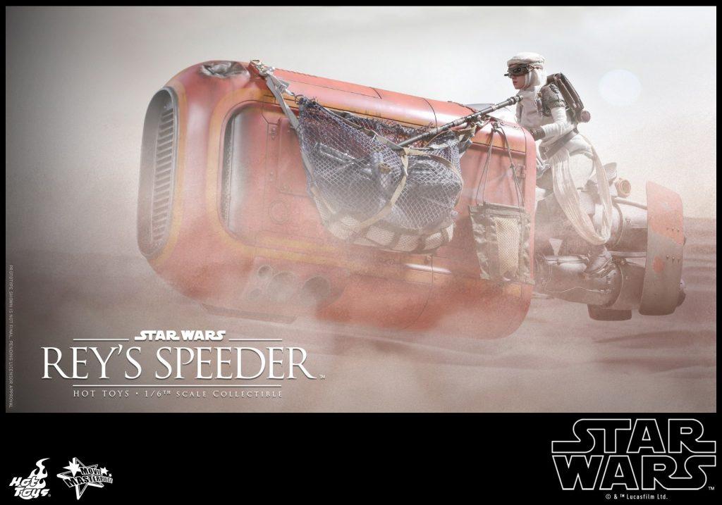 Hot Toys Rey's Speeder