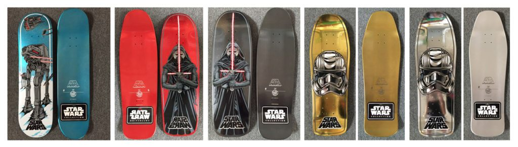 Santa Cruz Star Wars SDCC Exclusives
