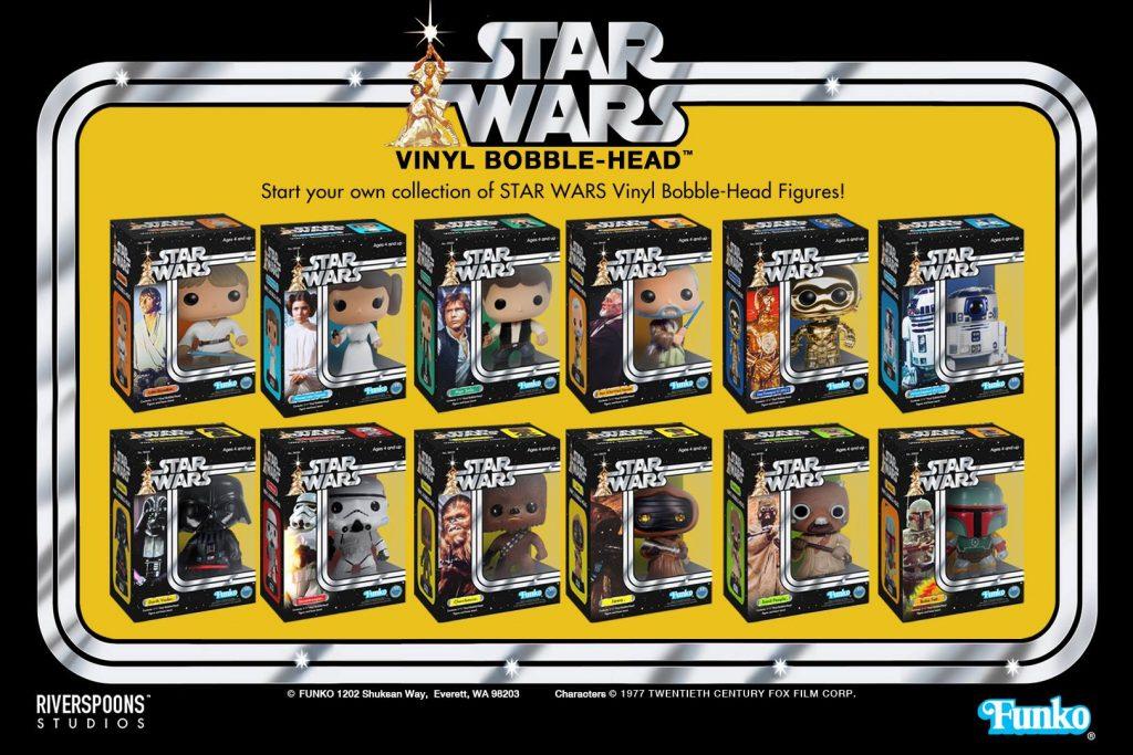 Custom Funko POP Star Wars Packaging