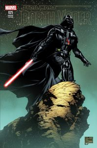 Darth Vader 25 Quesada Cover