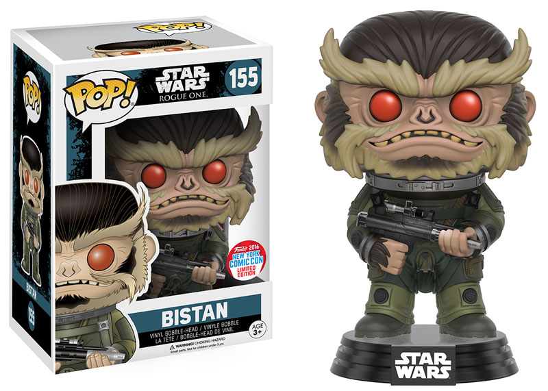 NYCC Exclusive Star Wars POP Figures