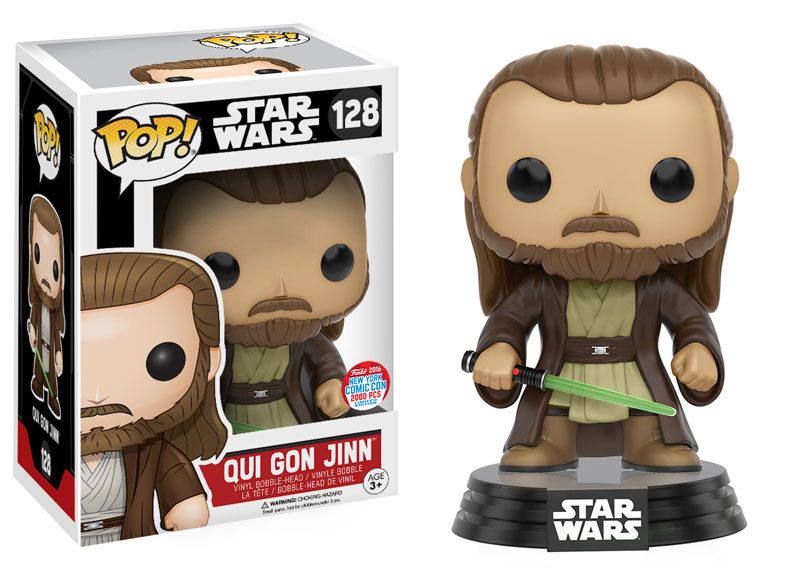 NYCC Exclusive Qui Gon Jinn POP!