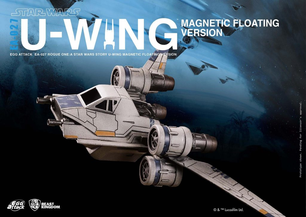 EA-027 Rogue One: A Star Wars Story U-Wing Magnetic Floating Ver.