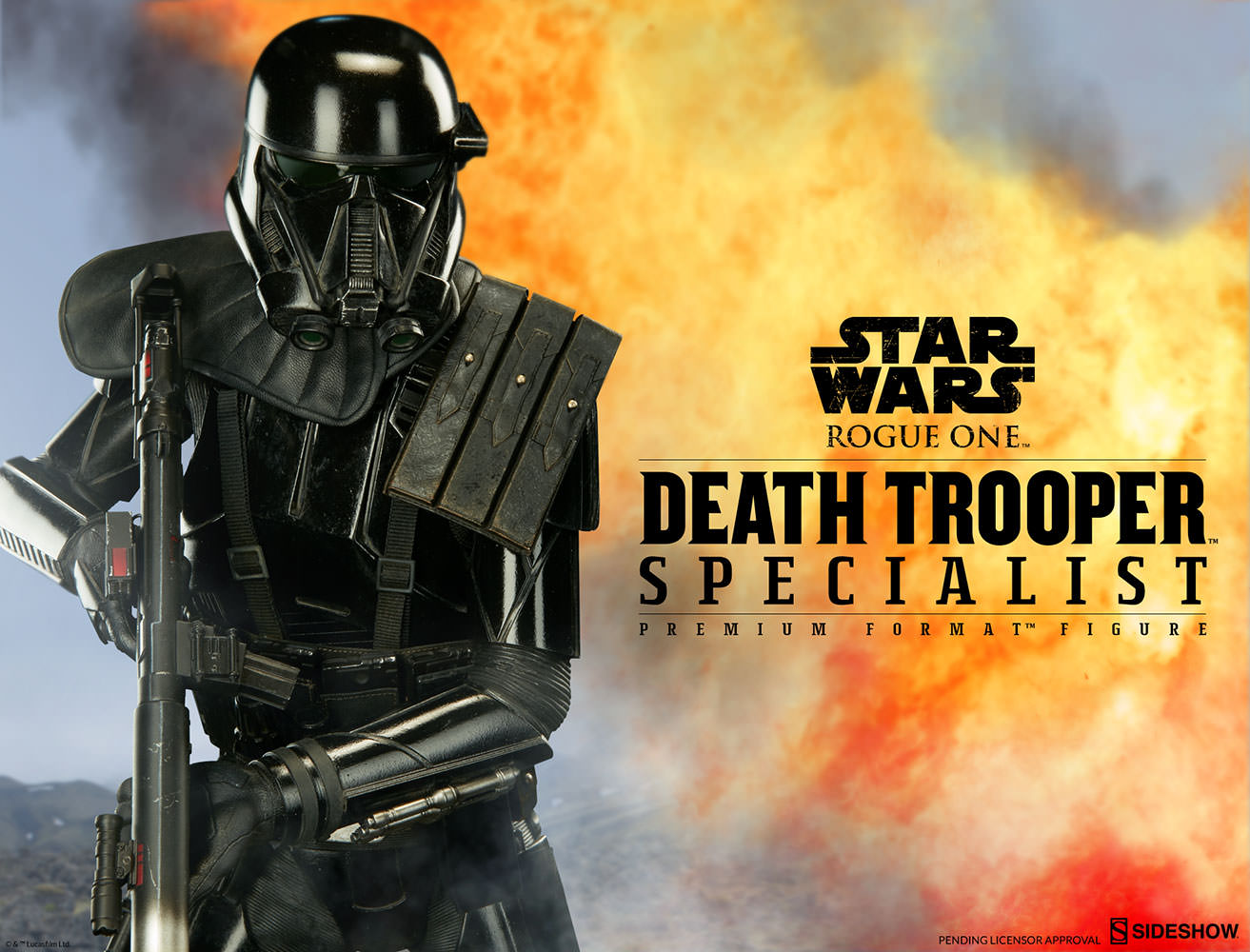 Death Trooper Premium Format Figure