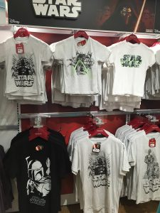 Color Changing Star Wars T-Shirts