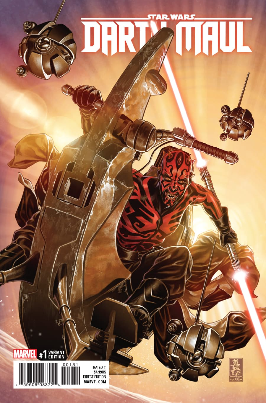 Darth Maul 1 Preview