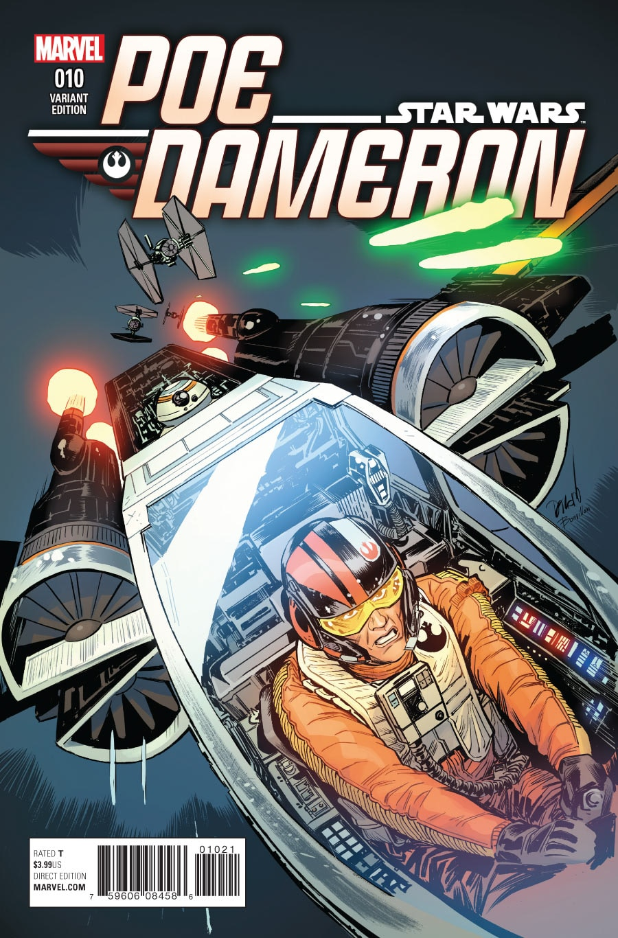 Poe Dameron 10 Preview