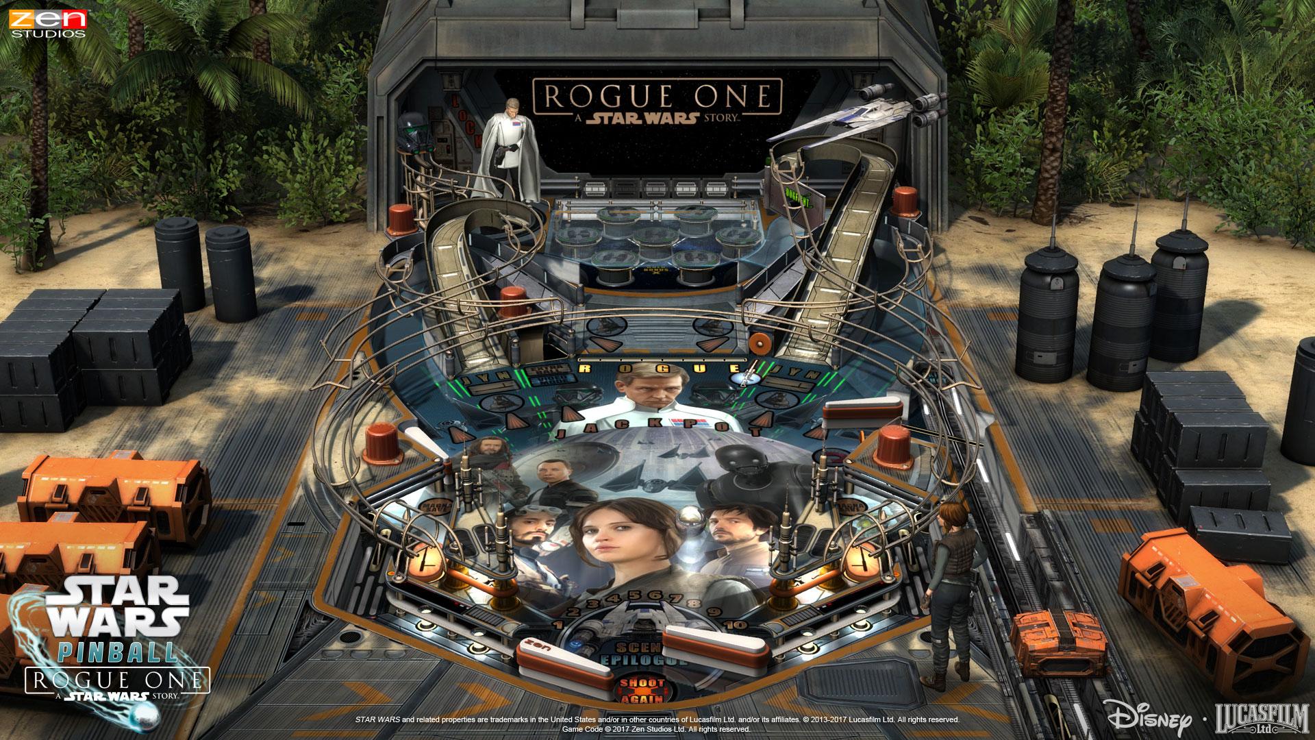 Rogue One Pinball Table