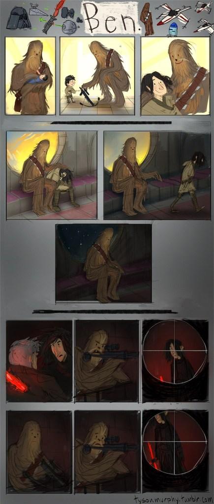 Saddest Star Wars The Force Awakens Moment