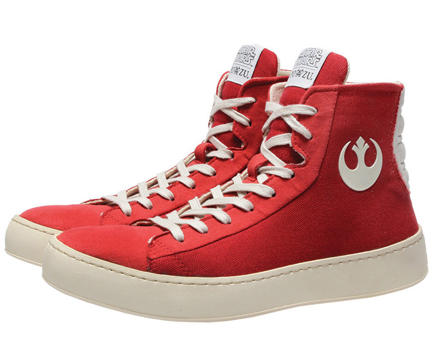 Poe Dameron Inspired Shoes
