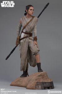 Rey and BB-8 Premium Format