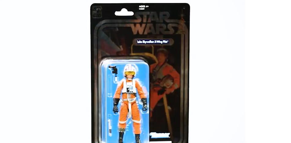 "Exclusive 6"" Luke Skywalker Figure"