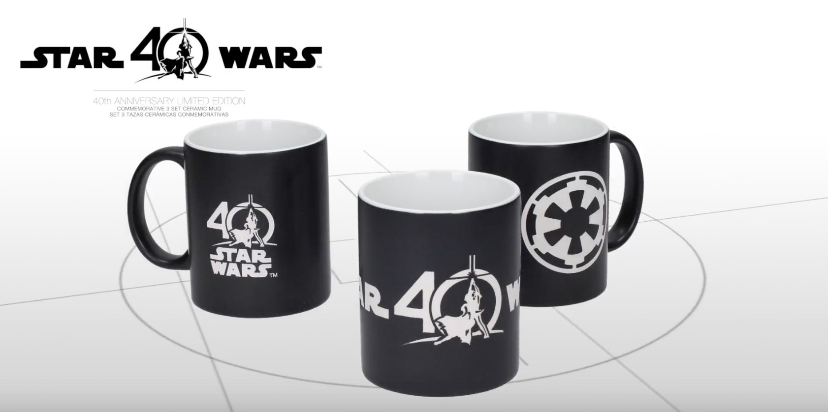 40th Anniversary Mugs From SD Toys