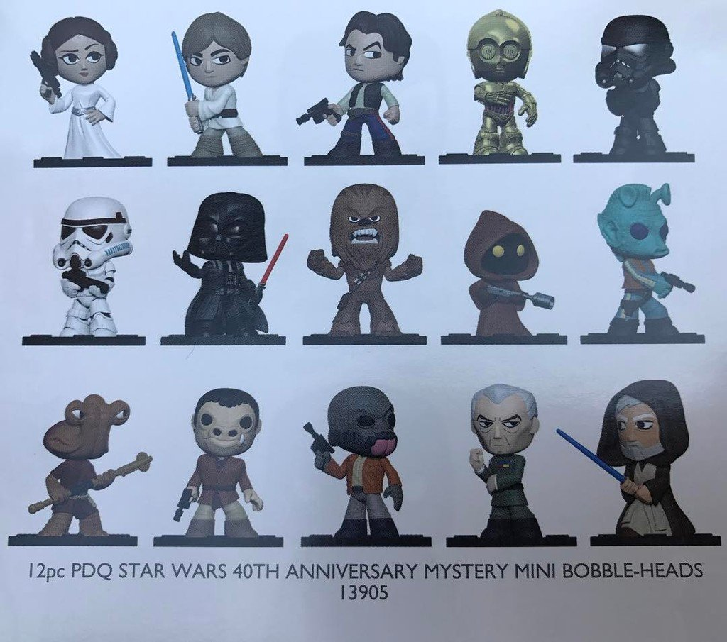 Funko Star Wars Mystery Mini