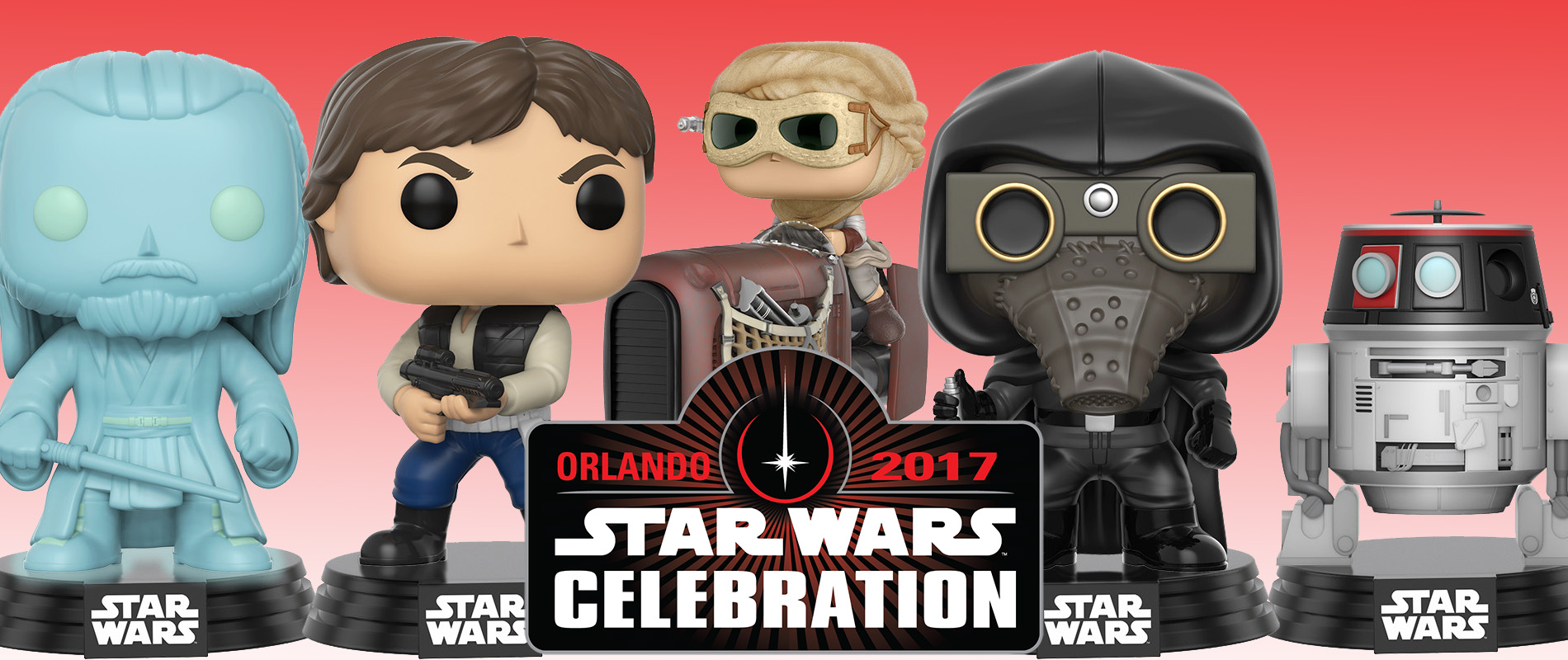 Funko Star Wars Celebration Exclusives