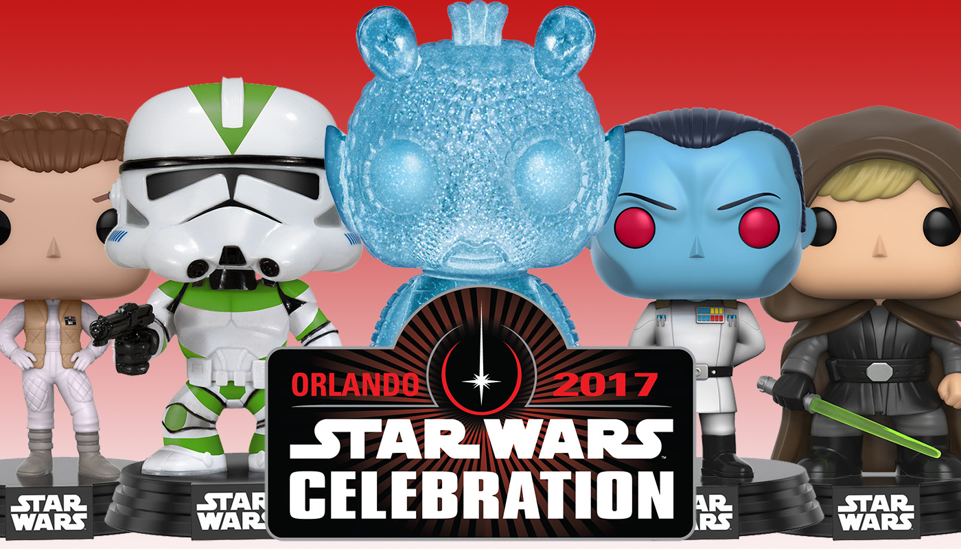 Funko Star Wars Celebration Orlando Exclusives