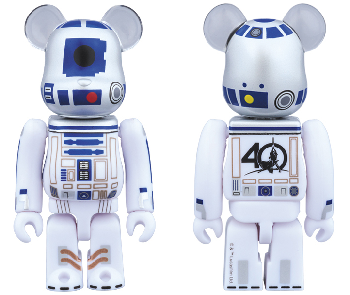 40th Anniversary R2-D2 Be@rbrick