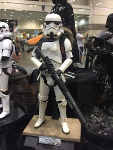 Sideshow Collectibles Booth