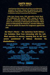 Darth Maul 3 Preview