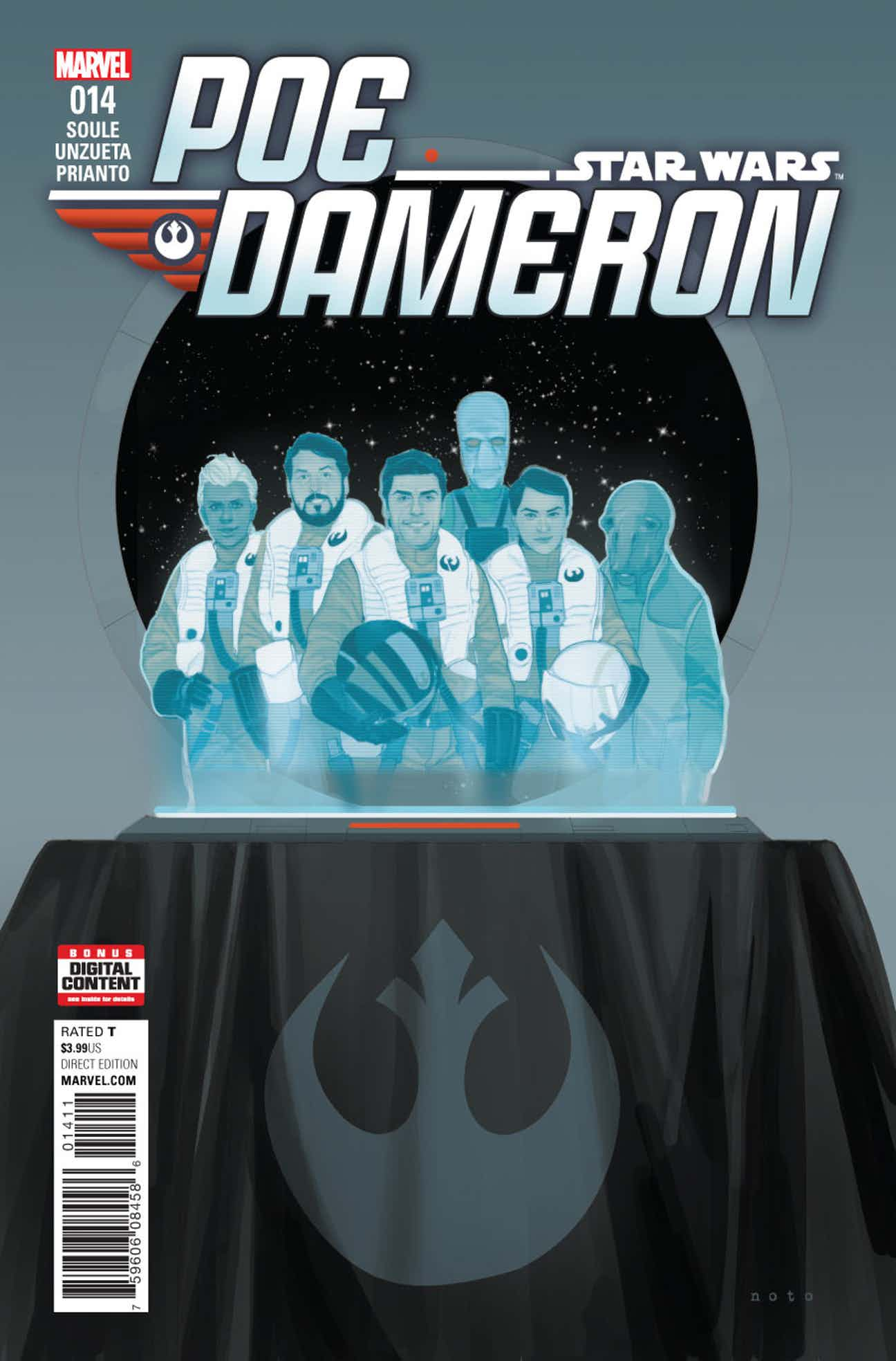 Poe Dameron 14 Preview