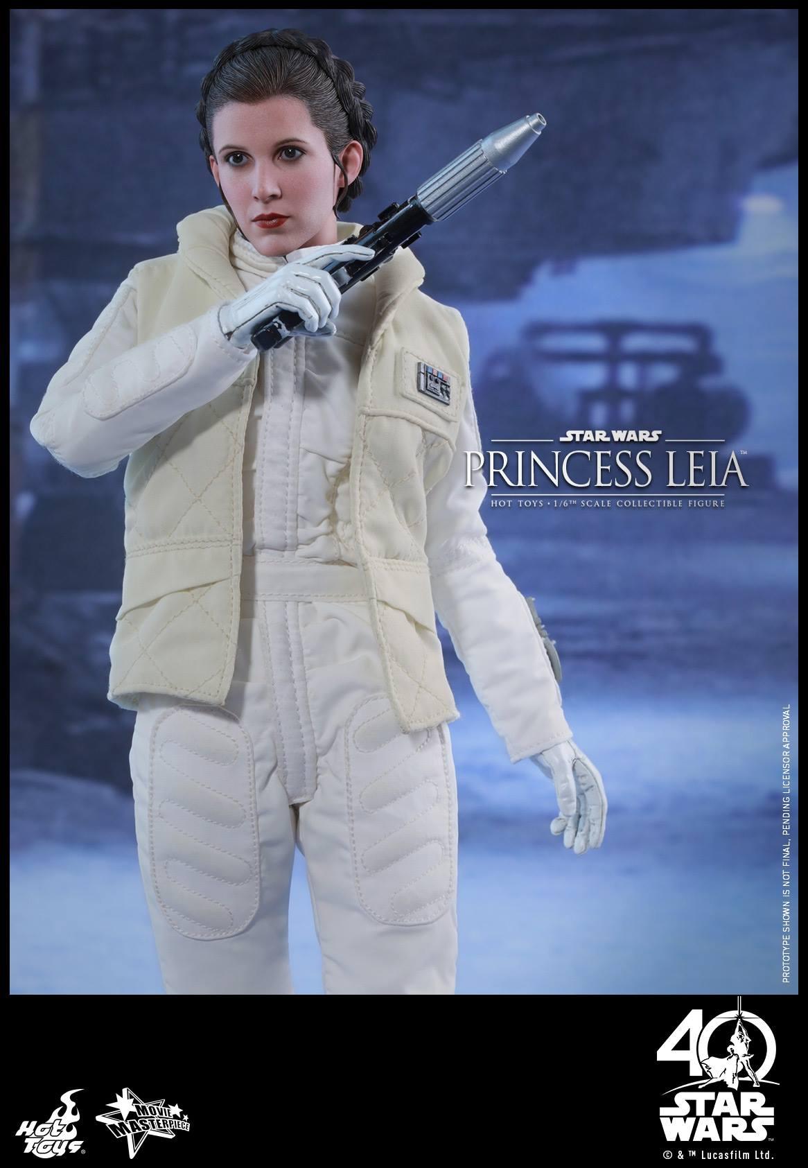 Empire Strikes Back Princess Leia Figure