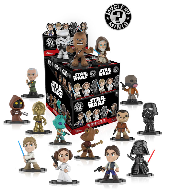 Star Wars Mystery Minis