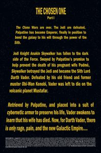 Darth Vader 1 Preview