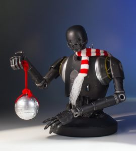 K-2SO Holiday Deluxe Mini Bust