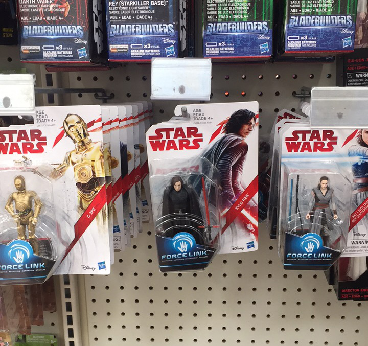 Force Friday II Hasbro Figures