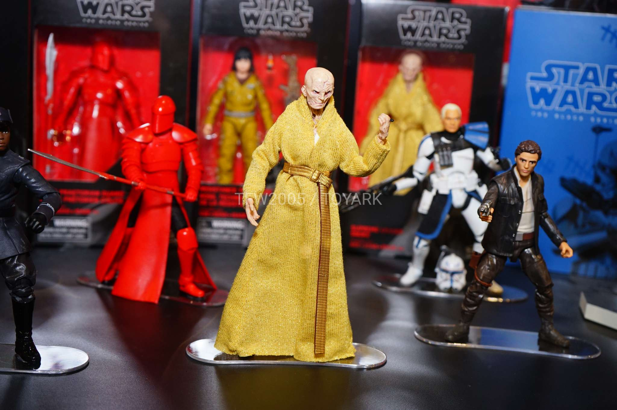 "The Black Series 3.75"" Supreme Leader Snoke"