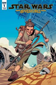 Star Wars Adventures 1 Variant Cover