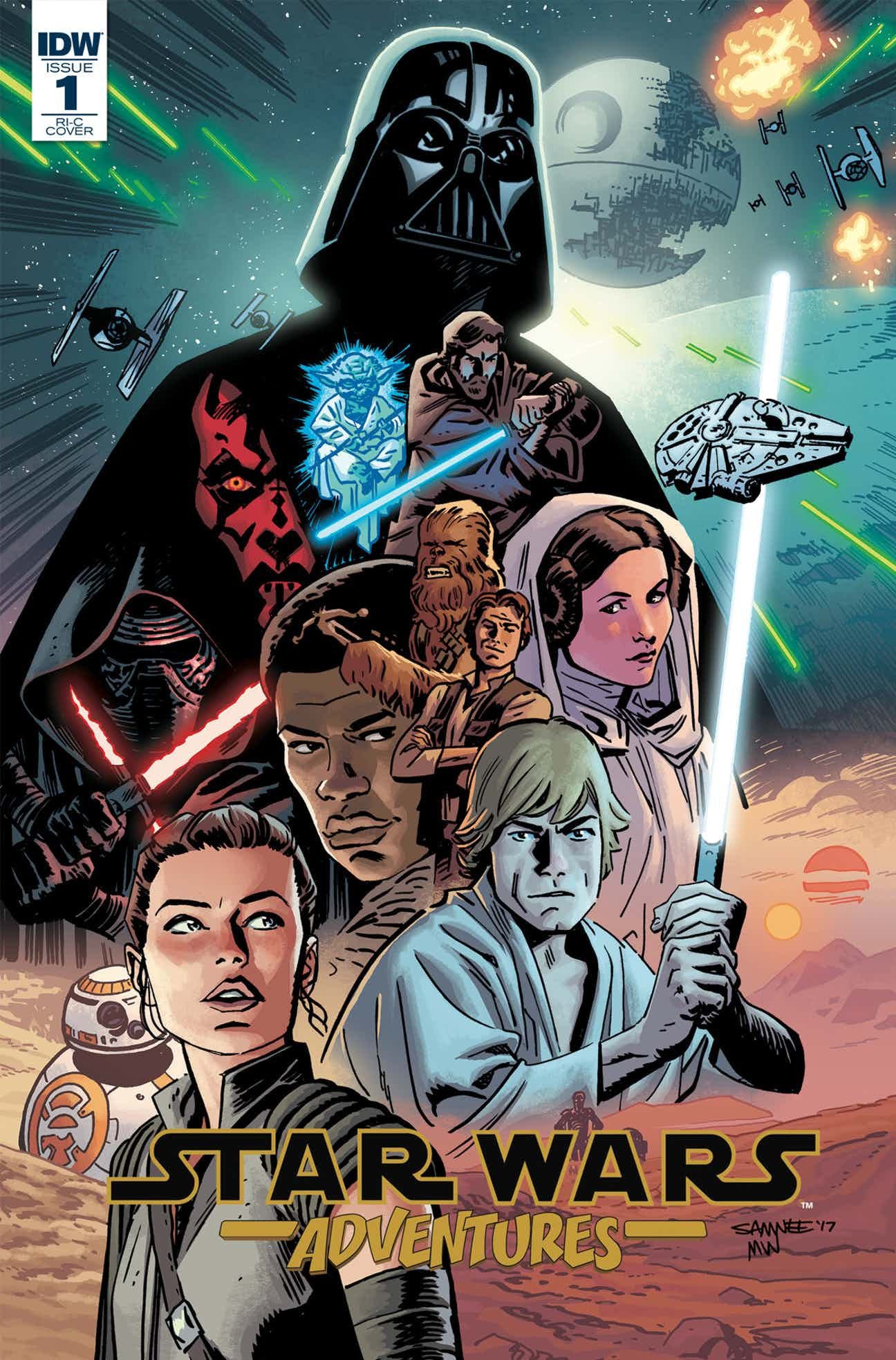 Star Wars Adventures 1 Preview Variant Cover