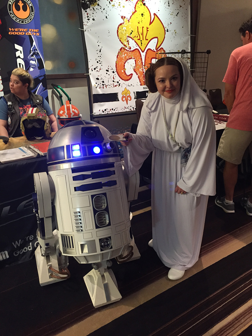 "Claudia Gray Autographed copy of ""Leia"""