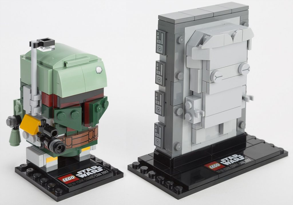 LEGO Star Wars BrickHeadz Boba Fett & Han In Carbonite