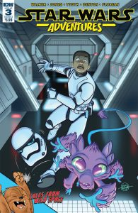Star Wars Adventures 3 Cover Preview