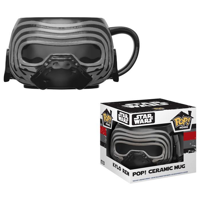 Star Wars: The Last Jed Kylo Ren Pop! Home 12 oz. Mug