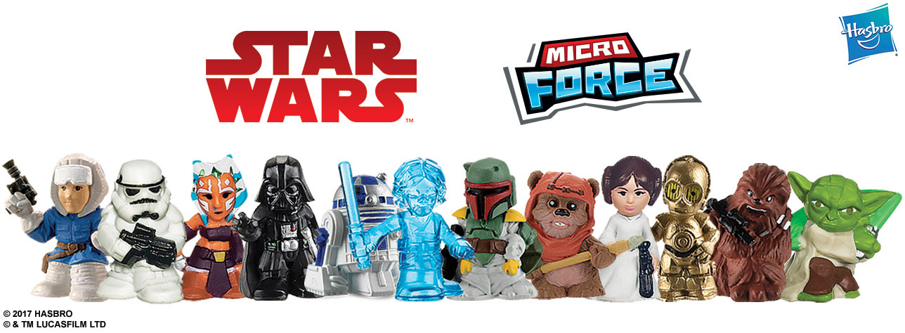 Star Wars Micro Force Wave 1