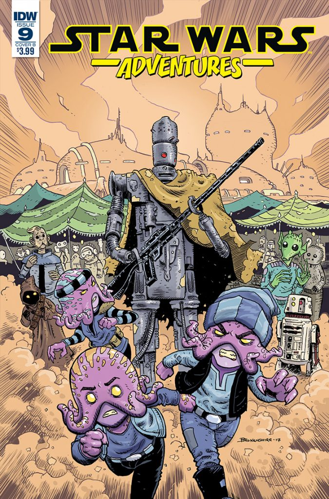 Star Wars Adventures #9—Cover B: Nickolas Brokenshire