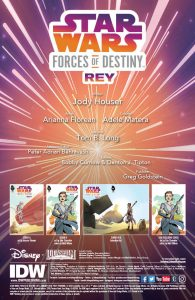 Star Wars: Forces of Destiny – Rey page 1