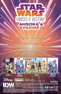 Star Wars Adventures: Forces of Destiny—Ahsoka & Padme page 1