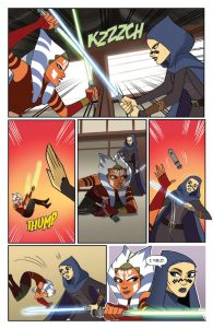 Star Wars Adventures: Forces of Destiny—Ahsoka & Padme page 2