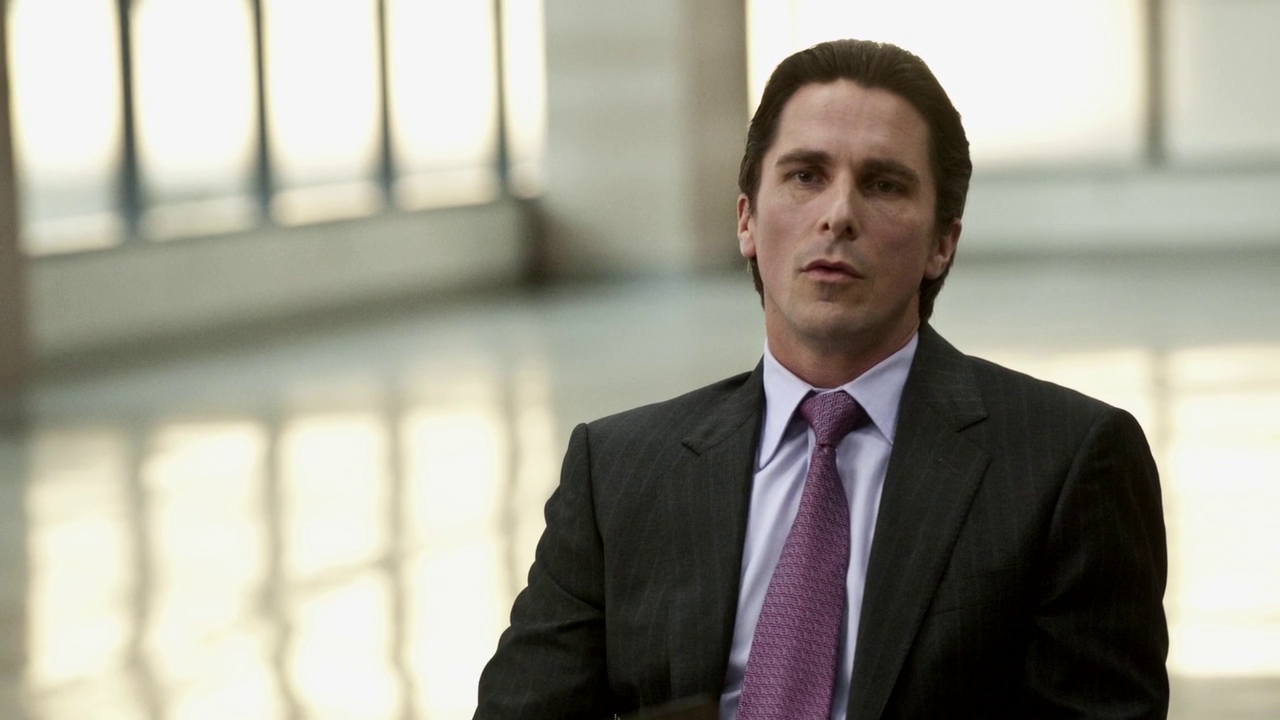 Christian Bale as Bruce Wayne in The Dark Knight