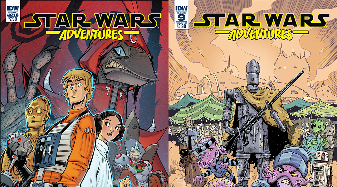 IDW Publishing April 2018 Solicitations